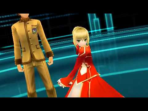 Fate/Extra (PSP) english gameplay