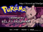 Download Pokemon Version Eclat Pourpre (Hack GBA) (Version 2.0)