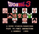 Download Dragon Ball 3 Gokuu Den Japan NES