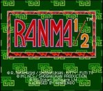 Download Ranma 1-2 (FRANCE) (SNES)