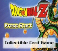 DragonBall Z Collective Card Game (gba)