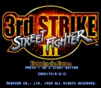 Street Fighter III - 3rd Strike (cps3)