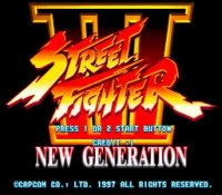Street Fighter III - New Generation (cps3)