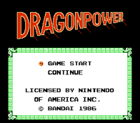 Dragon Power (nes)