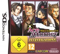 Ace Attorney Investigations Miles Edgeworth (DS)