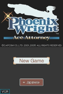 Télécharger Phoenix Wright Ace Attorney (DS) (Europe)