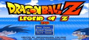 Dragon Ball Z RPG : Legend of Z (RPG Maker)