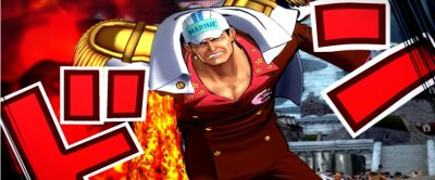 One Piece Burning Blood : Mihawk, Sengoku, Moria,Bartholomew Kuma, Akainu, Kizaru en images